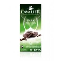 Temna čokolada brez sladkorja 85% Cavalier 85g