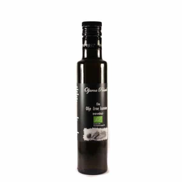 Olje črne kumine iz ekološke pridelave 250ml
