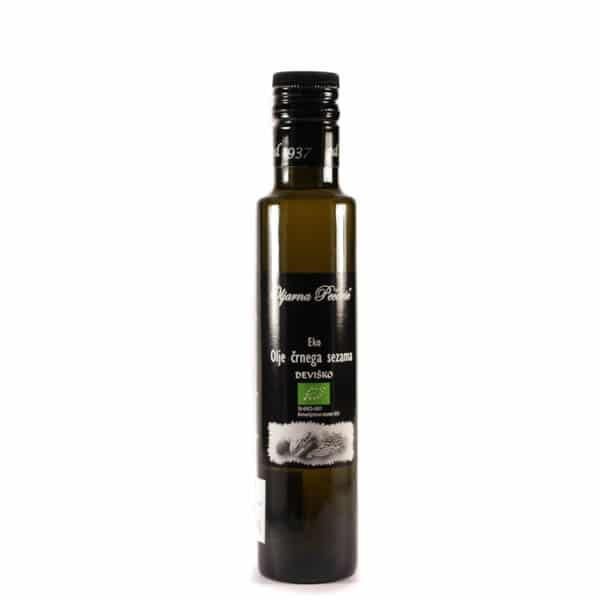 Olje črnega sezama iz ekološke pridelave 250ml