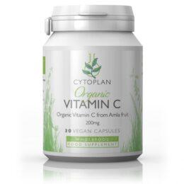 Ekološki vitamin C 200mg, 30 kapsul
