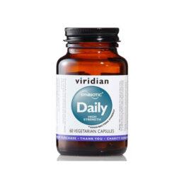 Dnevna simbioza probiotiki HIGH STRENGHT Viridian 30 kapsul