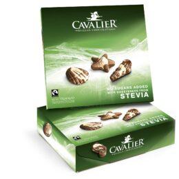 Čokoladna bonboniera brez sladkorja Cavalier