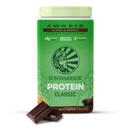 Sunwarrior Classic rastlinski proteini Čokolada 750 g