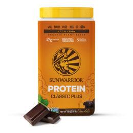Sunwarrior proteini SUN CLASSIC PLUS Čokolada 750g