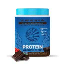 Sunwarrior Warrior Blend rastlinski proteini Čokolada 375g