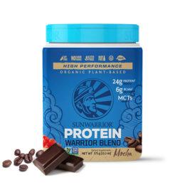 Sunwarrior Warrior Blend rastlinski proteini Mocha 375g
