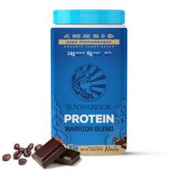 Sunwarrior Warrior Blend rastlinski proteini Mocha 750 g