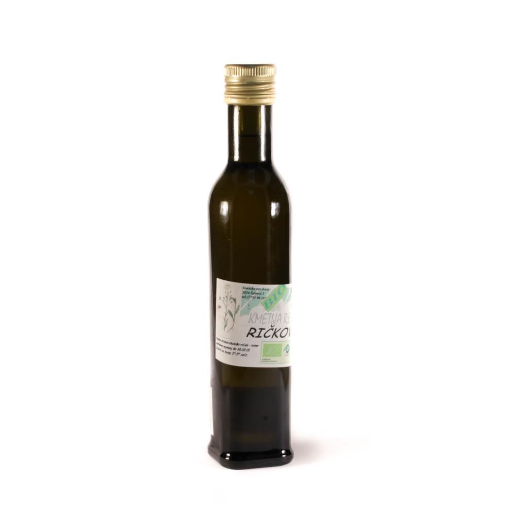 Totrovo, ričkovo olje iz ekološke pridelave 250ml