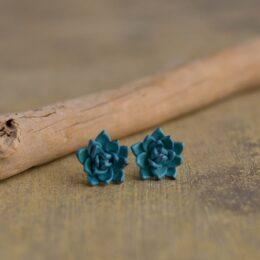 Mali uhani Modri netreski Brlogarka