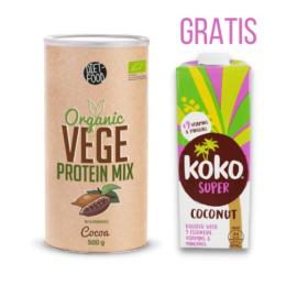Bio veganske beljakovine KAKAV 500g